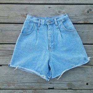 Vintage Rio High Waist Jean Shorts Sz 3